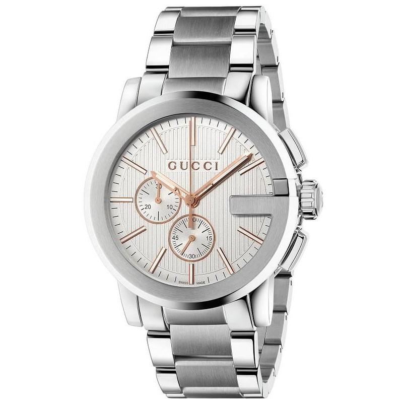 0d88ee79eb7 Gucci Men s Watch G-Chrono XL YA101201 Quartz Chronograph