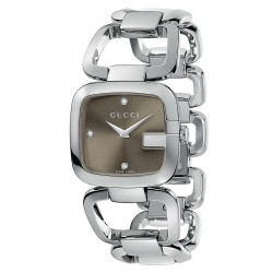 Buy Gucci Women's Watch G-Gucci Medium YA125401 Quartz