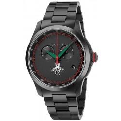 Gucci Men's Watch G-Timeless XL YA126269 Quartz Chronograph