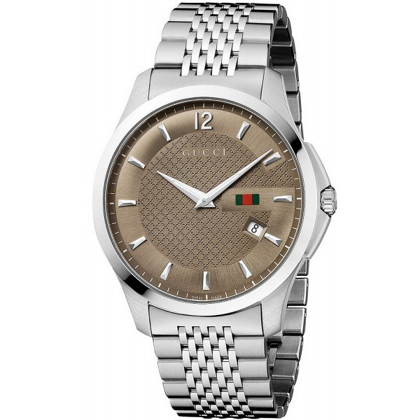 Buy Gucci Men's Watch G-Timeless YA126310 Quartz