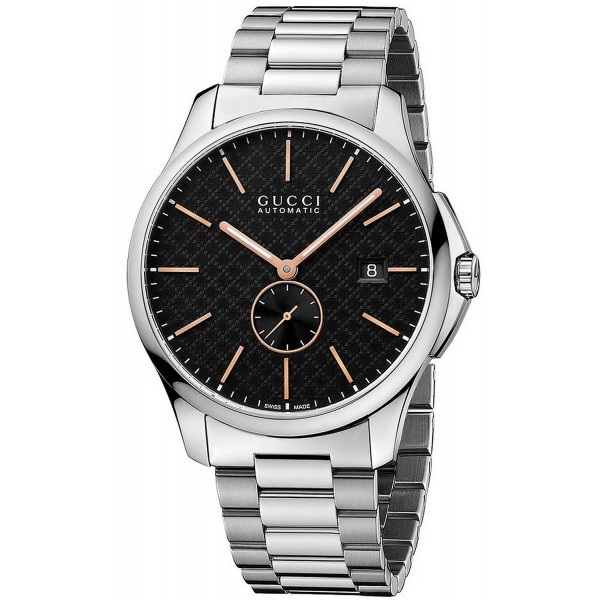 Buy Gucci Men's Watch G-Timeless Large Slim YA126312 Automatic