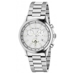 Gucci Unisex Watch G-Timeless Medium Quartz Chronograph YA126472