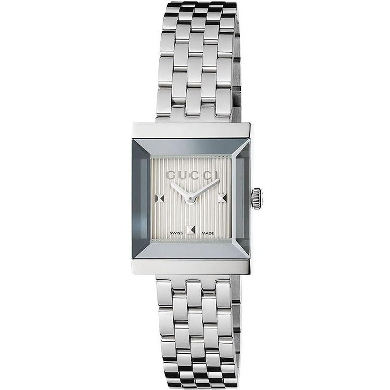 de630eb994a Gucci Women s Watch G-Frame Square Medium YA128402 Quartz