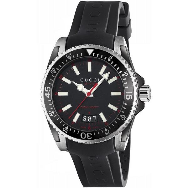 Buy Gucci Men's Watch Dive Large YA136303 Quartz