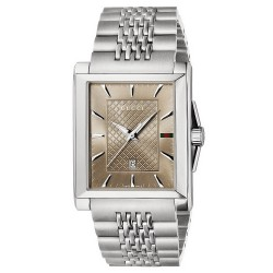 Gucci Men's Watch G-Timeless Rectangular Medium YA138402 Quartz
