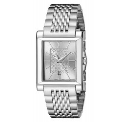 Gucci Women's Watch G-Timeless Rectangular Small YA138501 Quartz