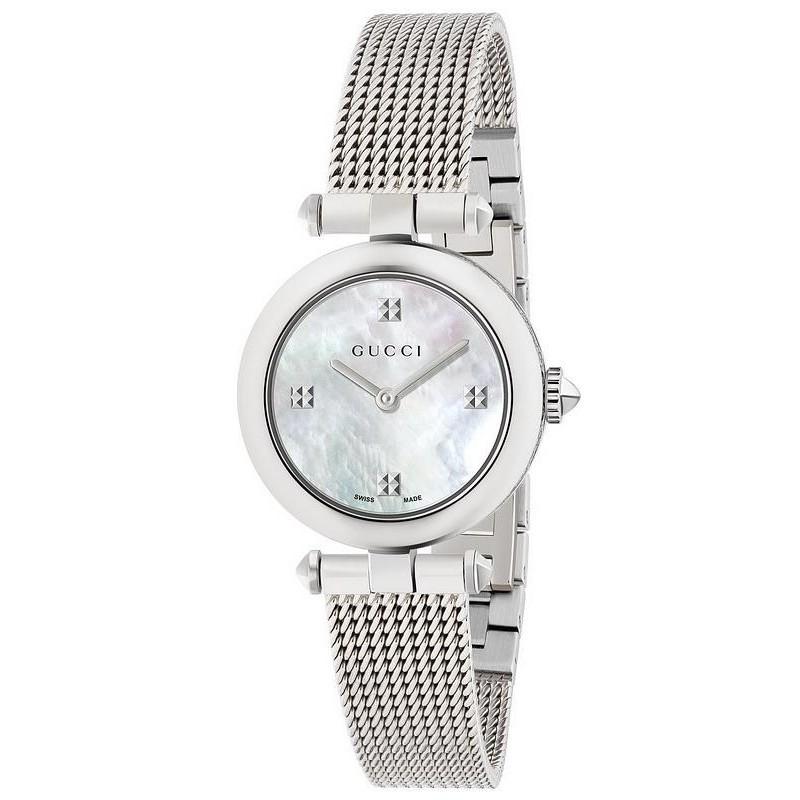 28d81e463f1 Gucci Women s Watch Diamantissima Small YA141504 Quartz