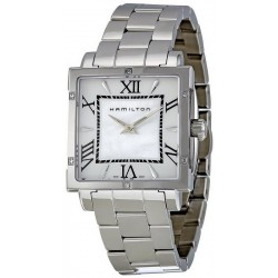 Hamilton Women's Watch Jazzmaster Square Lady Quartz H32291114