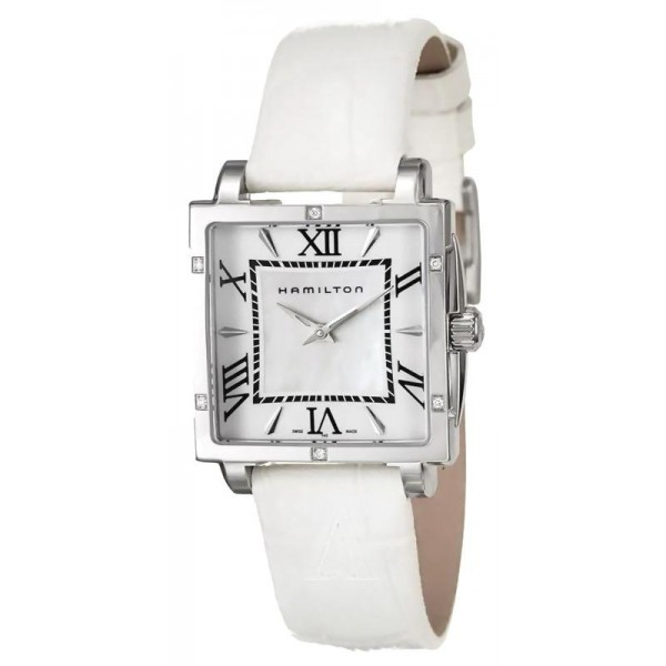 Buy Hamilton Women's Watch Jazzmaster Square Lady Quartz H32291914
