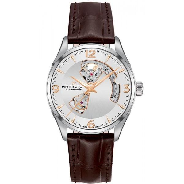 Buy Hamilton Men's Watch Jazzmaster Open Heart Auto Viewmatic H32705551