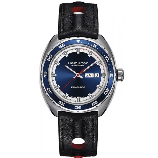 Buy Hamilton Men's Watch Pan Europ Day Date Auto H35405741