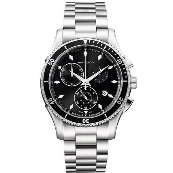 Buy Hamilton Men's Watch Jazzmaster Seaview Chrono Quartz H37512131