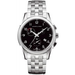 Hamilton Men's Watch Jazzmaster Thinline Chrono Quartz H38612133