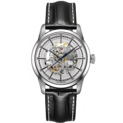 Hamilton Men's Watch Railroad Skeleton Auto H40655751