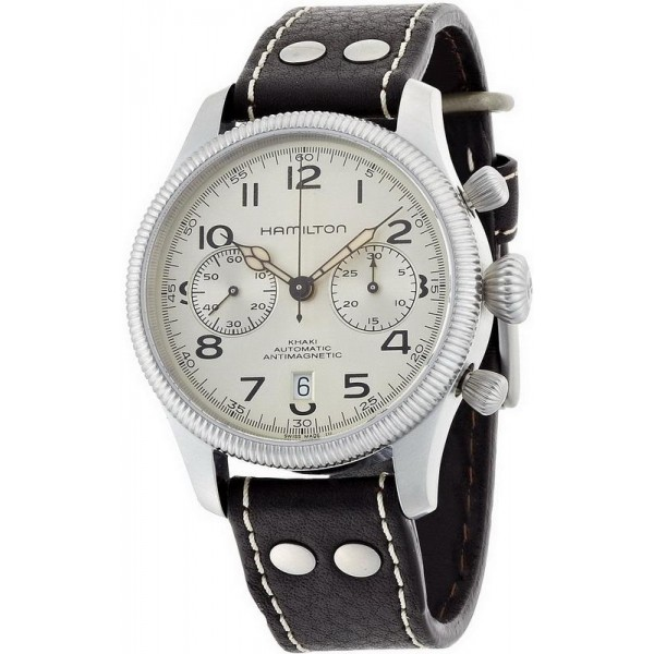 Buy Hamilton Men's Watch Khaki Field Conservation Auto Chrono H60416553