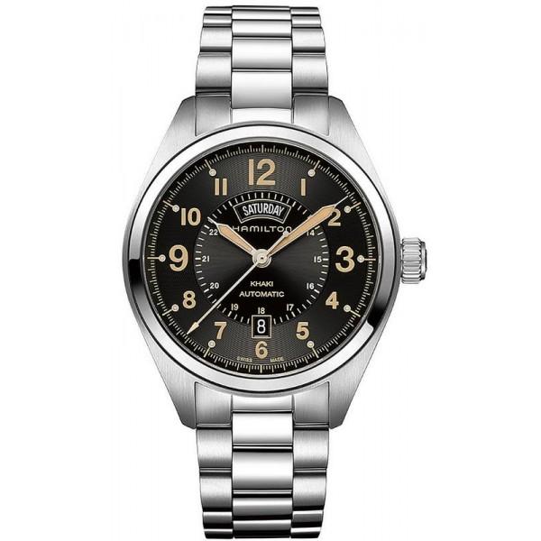 Buy Hamilton Men's Watch Khaki Field Day Date Auto H70505933
