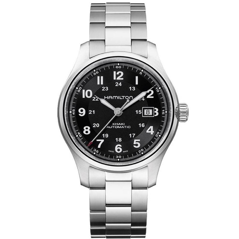6dcfa34d5b6 Hamilton Men s Watch Khaki Field Titanium Auto H70525133