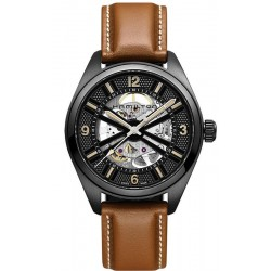 Hamilton Men's Watch Khaki Field Skeleton Auto H72585535