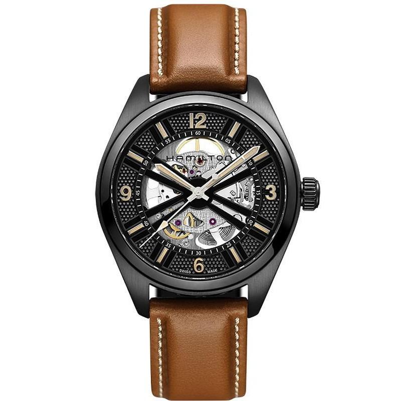 1a0061fe2 Hamilton Men's Watch Khaki Field Skeleton Auto H72585535