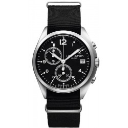 Hamilton Men's Watch Khaki Aviation Pilot Pioneer Chrono Quartz H76552433