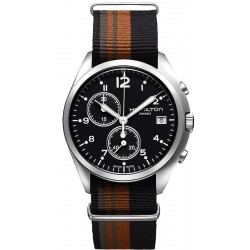Hamilton Men's Watch Khaki Aviation Pilot Pioneer Chrono Quartz H76552933