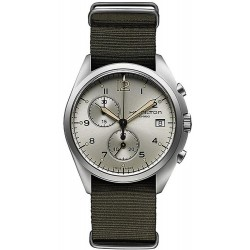 Hamilton Men's Watch Khaki Aviation Pilot Pioneer Chrono Quartz H76552955