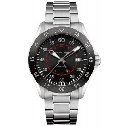 Hamilton Men's Watch Khaki Aviation Pilot GMT Auto H76755135