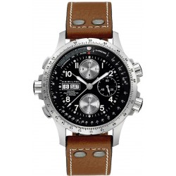 Hamilton Men's Watch Khaki Aviation X-Wind Auto Chrono H77616533