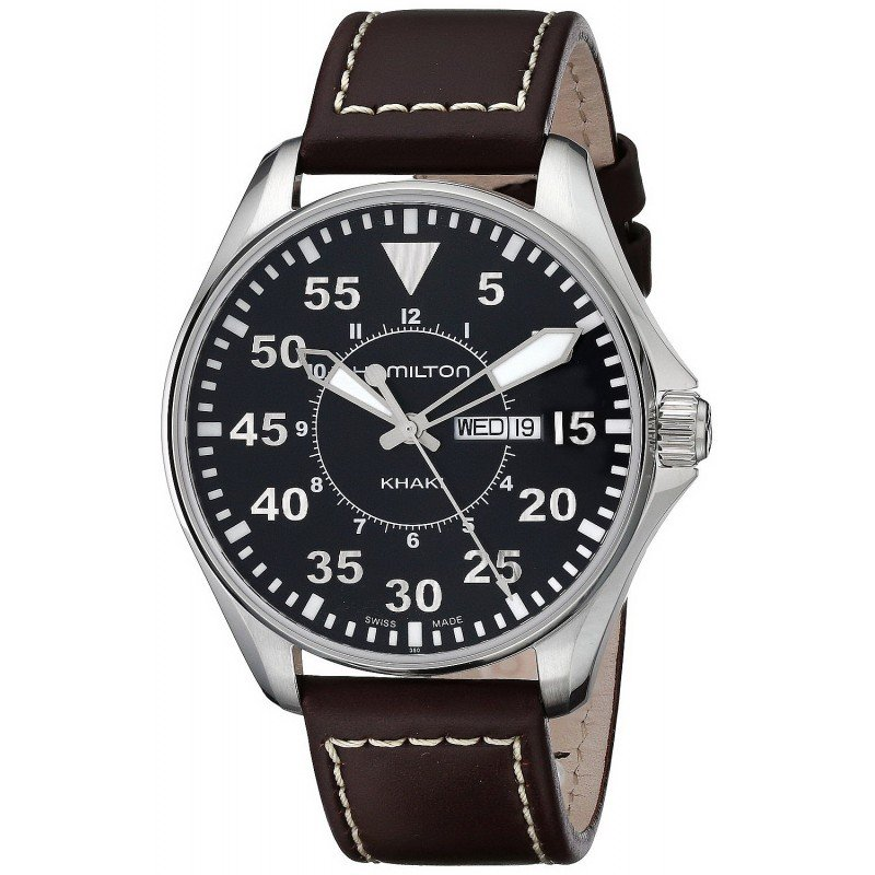 Hamilton Men's Watch Khaki Aviation Pilot Quartz H64611535