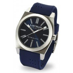 Locman Men's Watch Stealth Quartz 020100BLNNKSIB