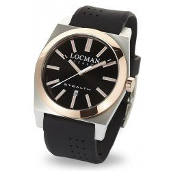 Locman Men's Watch Stealth Quartz 02010RBKF5N0SIK