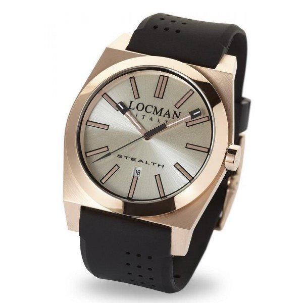 Buy Locman Men's Watch Stealth Quartz 0201RRAVF5N0SIK