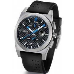 Locman Men's Watch Stealth Quartz Chronograph 020200CBFSK1GOK