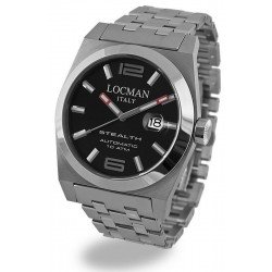 Locman Men's Watch Stealth Automatic 020500BKFNK0BR0