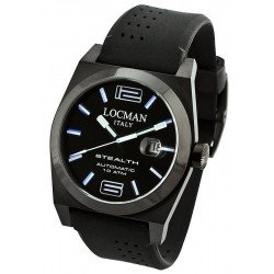 Locman Men's Watch Stealth Automatic 0205BKBKFBL0GOK