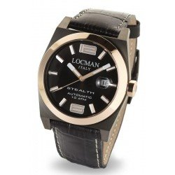 Locman Men's Watch Stealth Automatic 0205GRBKF5N0PSK