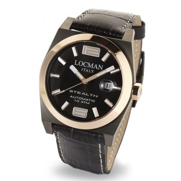 Buy Locman Men's Watch Stealth Automatic 0205GRBKF5N0PSK