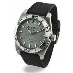 Locman Men's Watch Stealth Quartz 021100AK-AGKSIK
