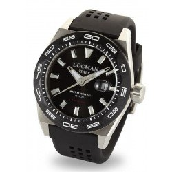 Locman Men's Watch Stealth 300MT Automatic 0215V1-0KBKNKS2K