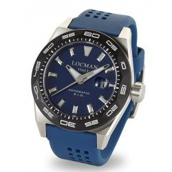 Locman Men's Watch Stealth 300MT Automatic 0215V3-0KBLNKS2B