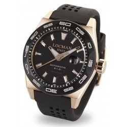 Locman Men's Watch Stealth 300MT Automatic 0215V5-RKBK5NS2K