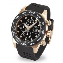 Locman Men's Watch Stealth 300MT Quartz Chronograph 0217V5-RKBK5NS2K