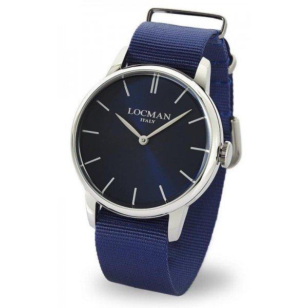 Buy Locman Men's Watch 1960 Quartz 0251V02-00BLNKNB