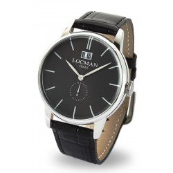 Locman Men's Watch 1960 Gran Data Quartz 0252V01-00BKNKPK