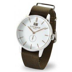 Locman Men's Watch 1960 Gran Data Quartz 0252V08-00WHRGNG