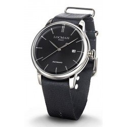 Locman Men's Watch 1960 Automatic 0255A01A-00BKNKNK