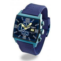 Locman Men's Watch Stealth Quartz Chronograph 0301BLBLFYL0SIB