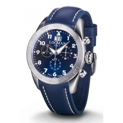Locman Men's Watch Isola d'Elba Quartz Chronograph 0460A02-00BLWHPB