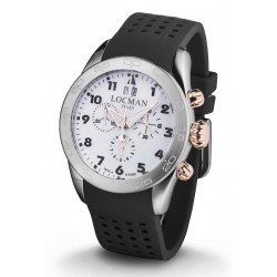 Locman Men's Watch Isola d'Elba Quartz Chronograph 0460M08-0RWHBKSK