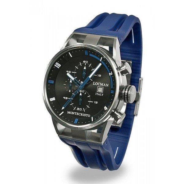 Buy Locman Men's Watch Montecristo Quartz Chronograph 051000BKFBL0GOB